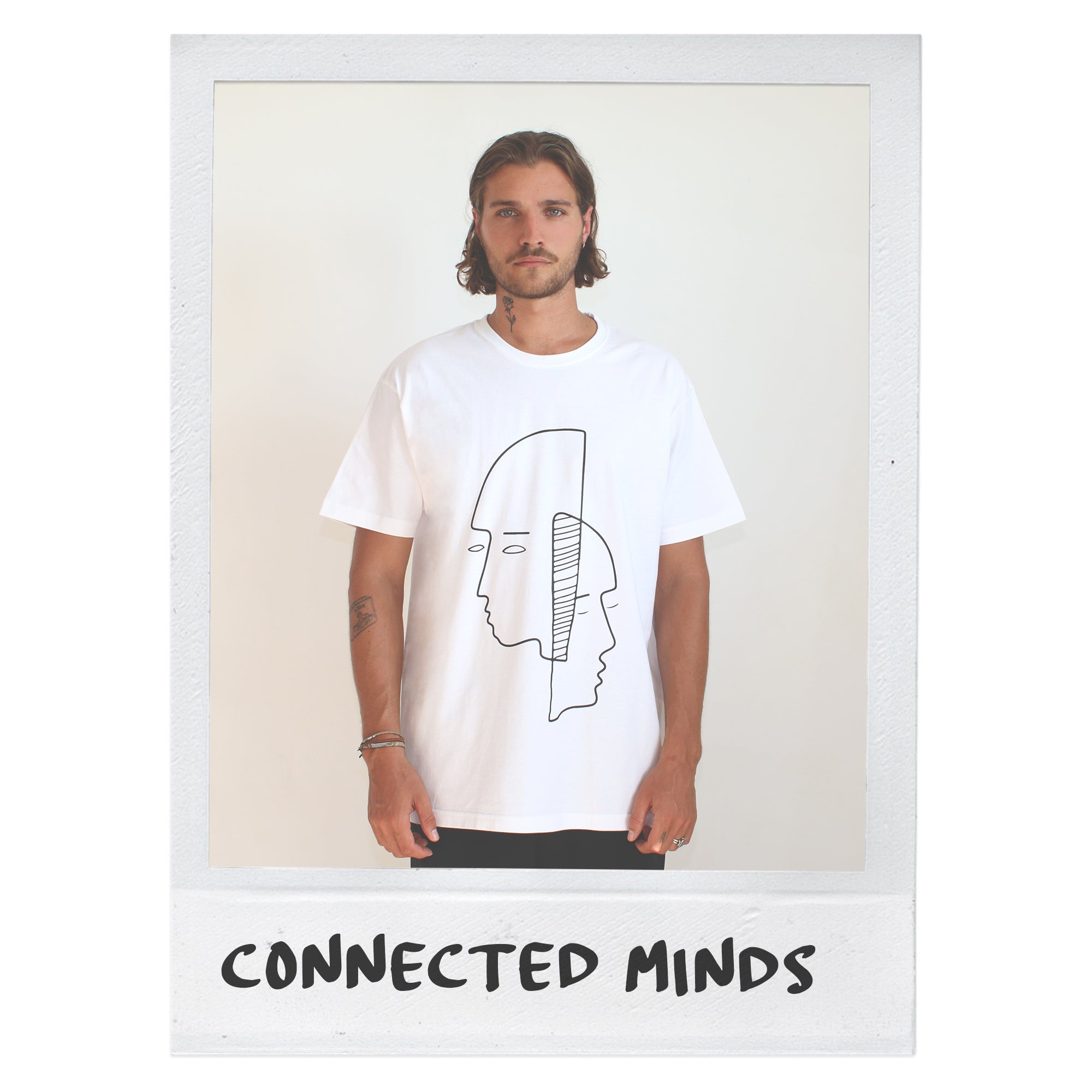 CONNECTED MINDS T-SHIRT - WHITE