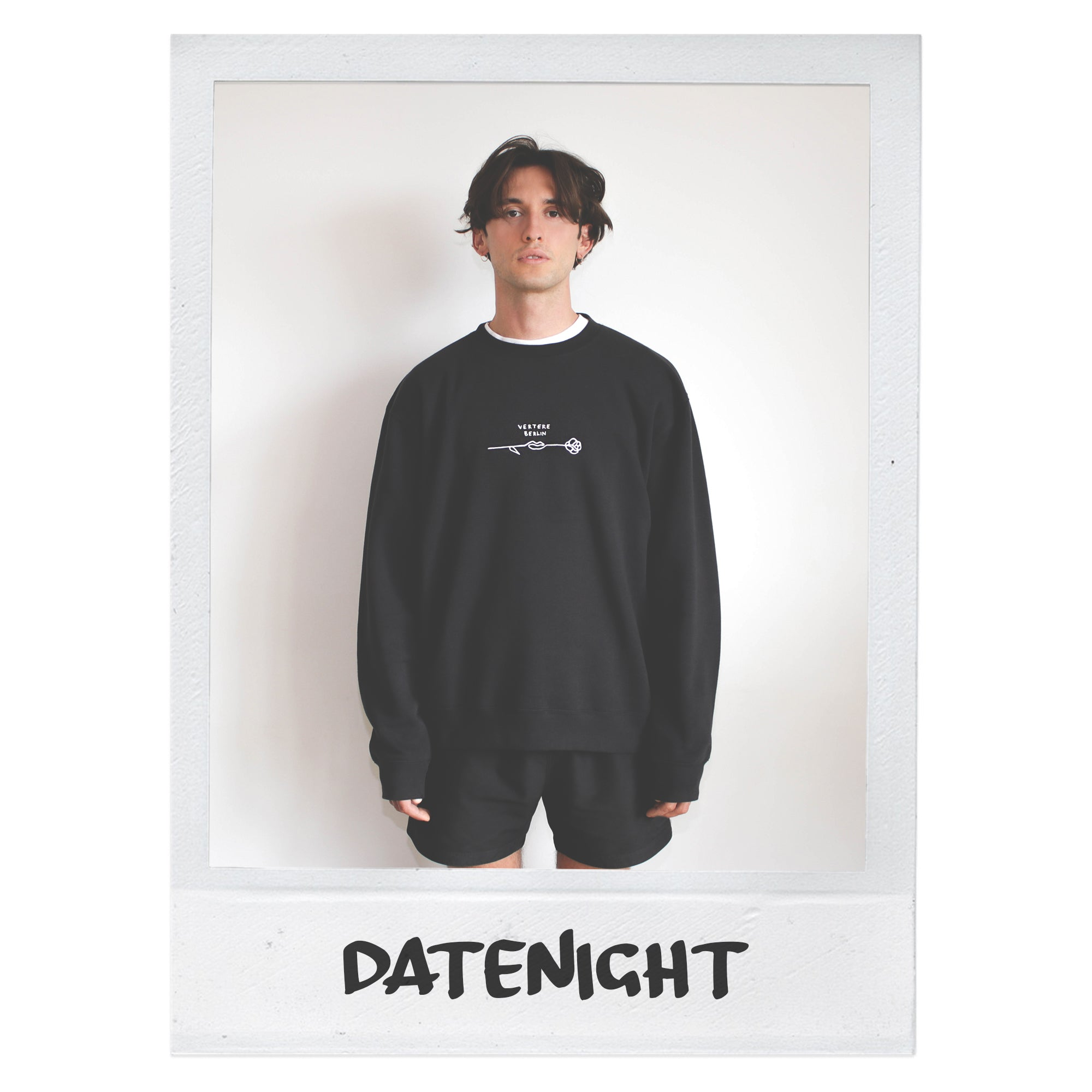 DATENIGHT SWEATER - BLACK