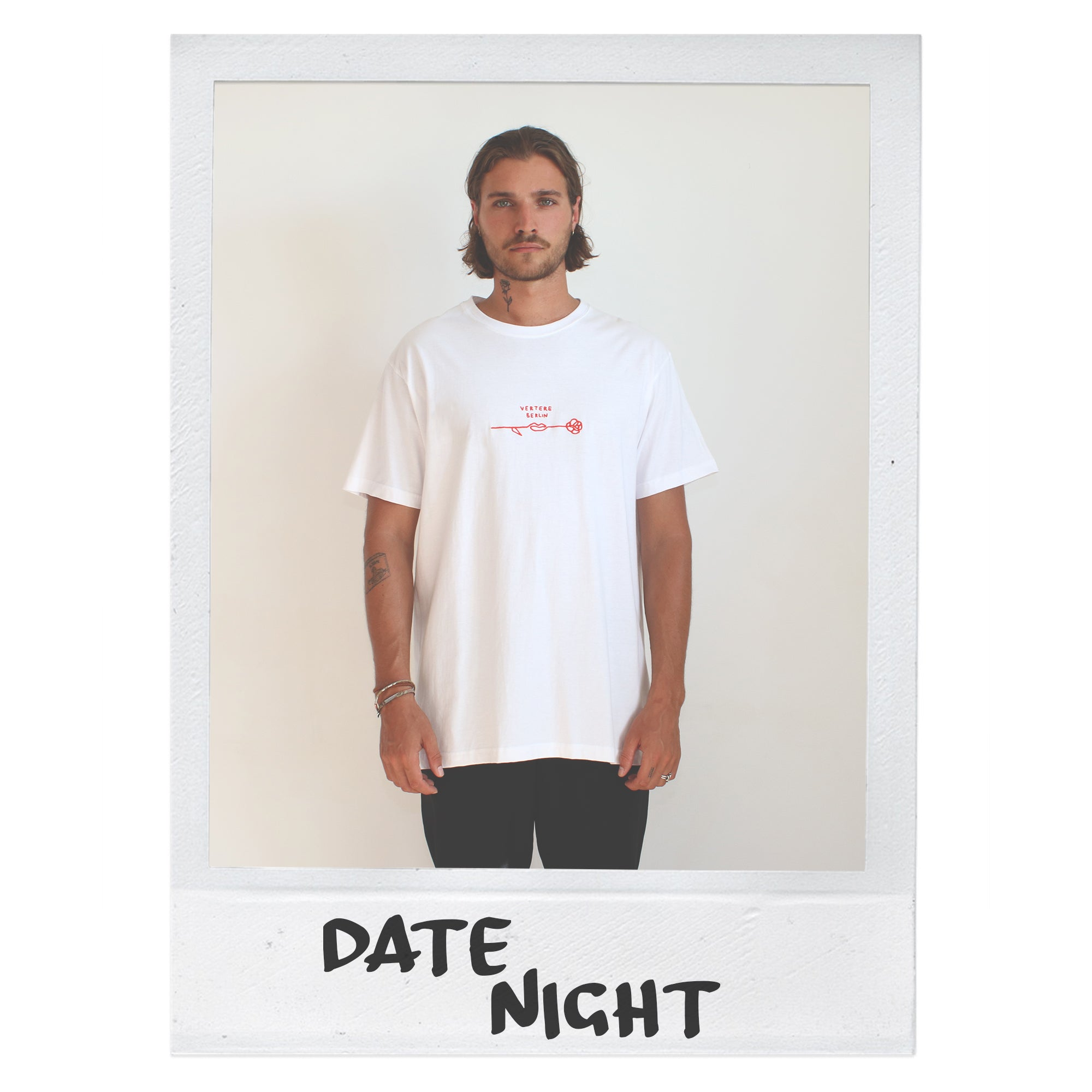 DATENIGHT T-SHIRT - WHITE
