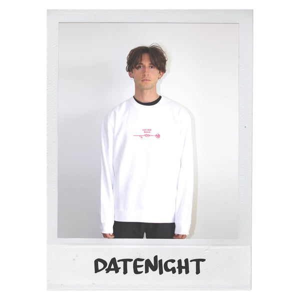 DATENIGHT SWEATER - WHITE