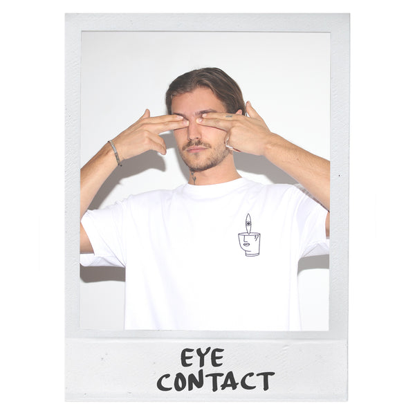 EYE CONTACT T-SHIRT - WHITE