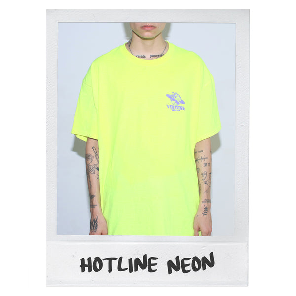 HOTLINE T-SHIRT - NEON