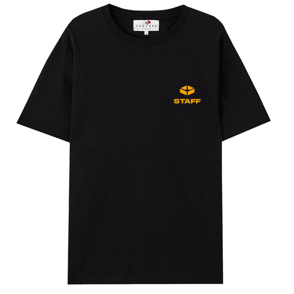 RAVE SPACE T-SHIRT - BLACK