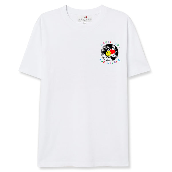 LOCAL LOYALTY T-SHIRT - WHITE