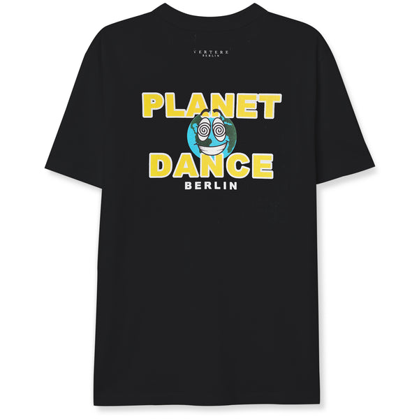 PLANET DANCE T-SHIRT - BLACK