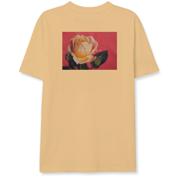 VINTAGE ROSE T-SHIRT - PEACH