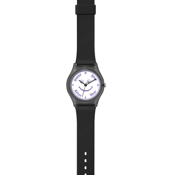 ANDHIM COLLAB WRIST WATCH AFTERHOUR - BLACK