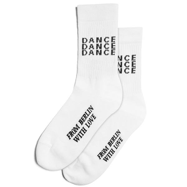 TENNIS SOCKS DANCE - WHITE