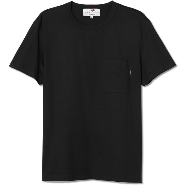 POCKET T-SHIRT LOGO - BLACK