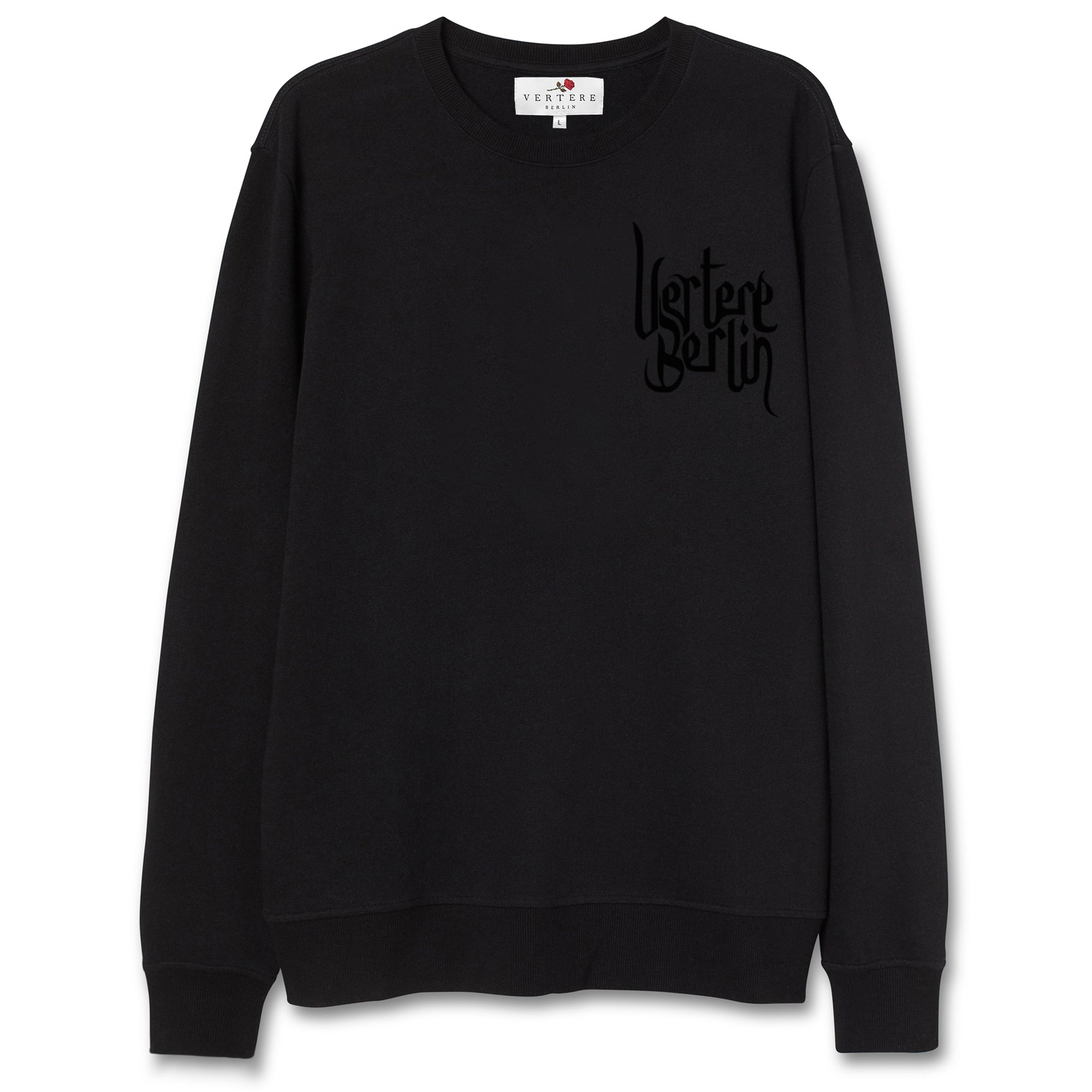 SPIRITUAL SWEATER - BLACK
