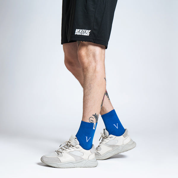 TENNIS SOCKS V - BLUE