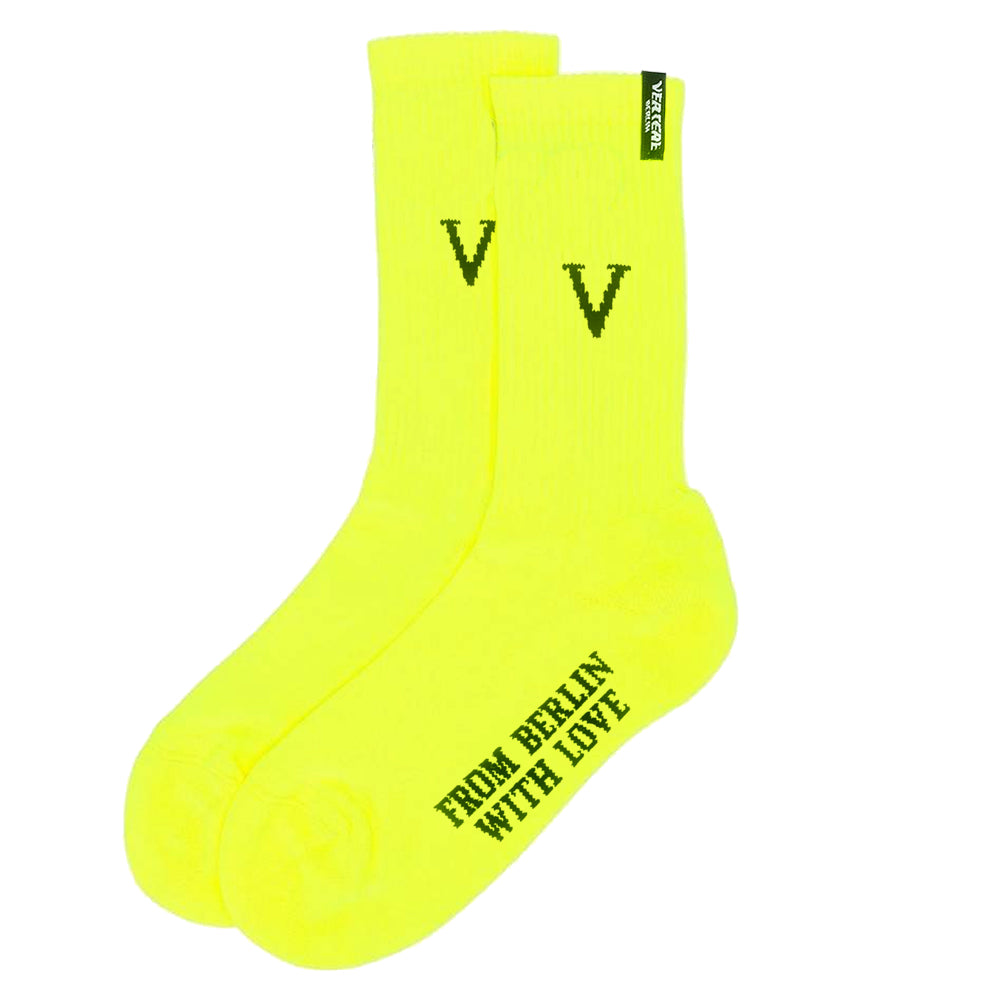 TENNIS SOCKS V - NEON