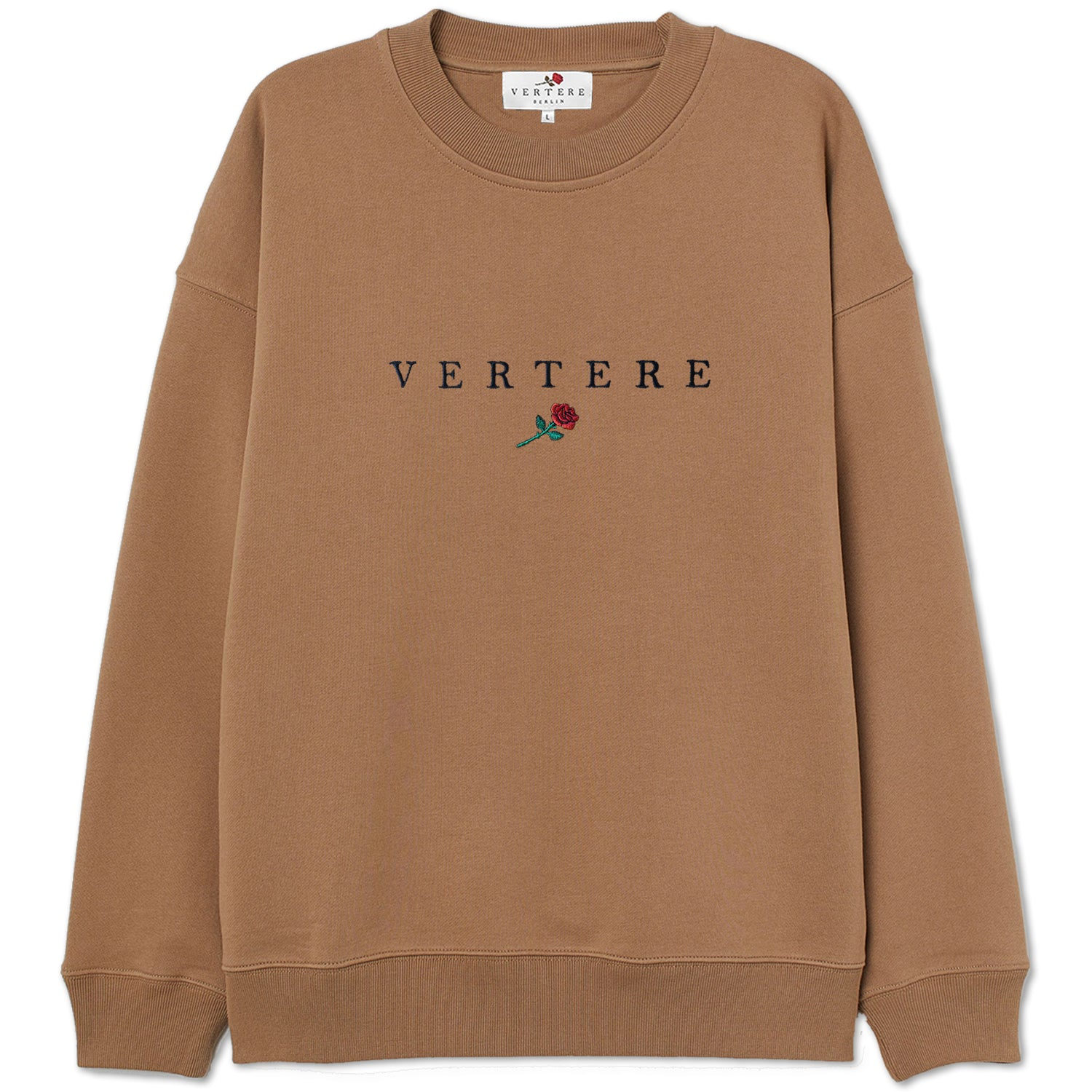 VERTERE ROSE SWEATER - CAMEL
