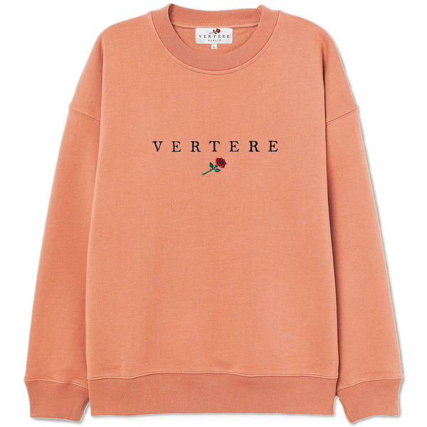 VERTERE ROSE SWEATER - APRICOT