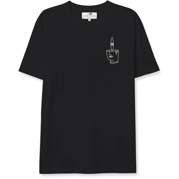 EYE CONTACT T-SHIRT - BLACK