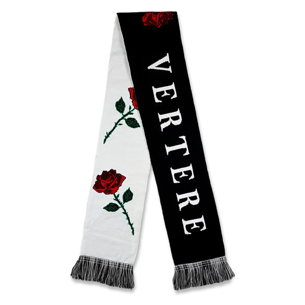 ROMANCE SCARF - BLACK/WHITE