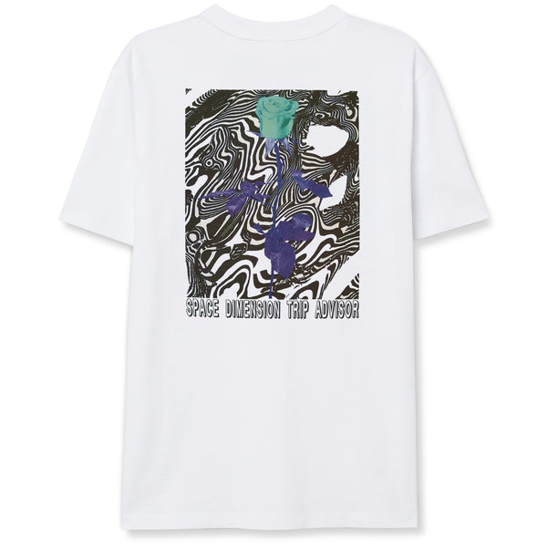 SPACE DIMENSION T-SHIRT - WHITE