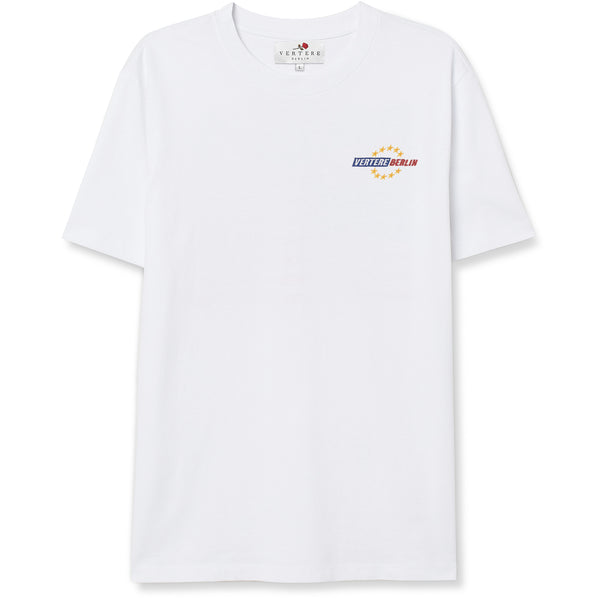 VERTERE UNITED T-SHIRT DETAIL - WHITE