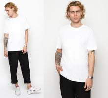 TWO PACK T-SHIRT V - BLACK/WHITE