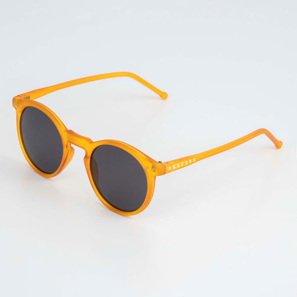 ROUND SUNGLASSES - ORANGE