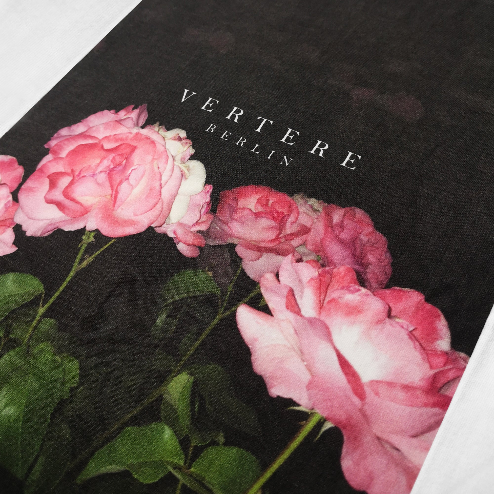 VINTAGE ROSE 2 T-SHIRT - WHITE