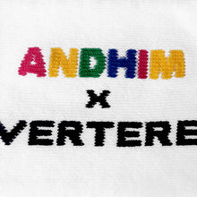 ANDHIM COLLAB DANCE PARTY SOCKS - WHITE