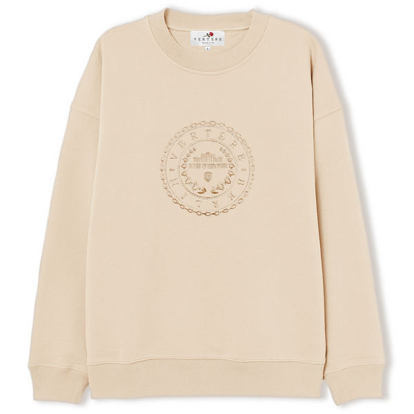CIRCLE SWEATER - BEIGE