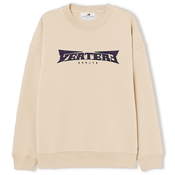ROUGHNESS SWEATER - BEIGE