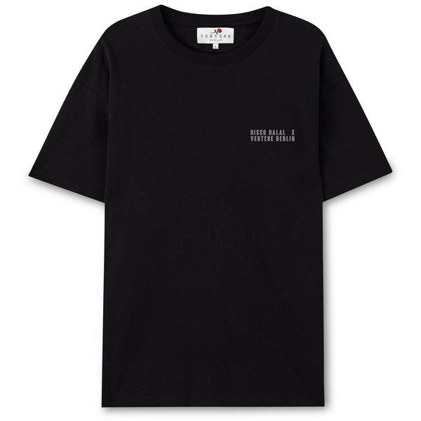 DISCO HALAL BERLIN T-SHIRT - BLACK