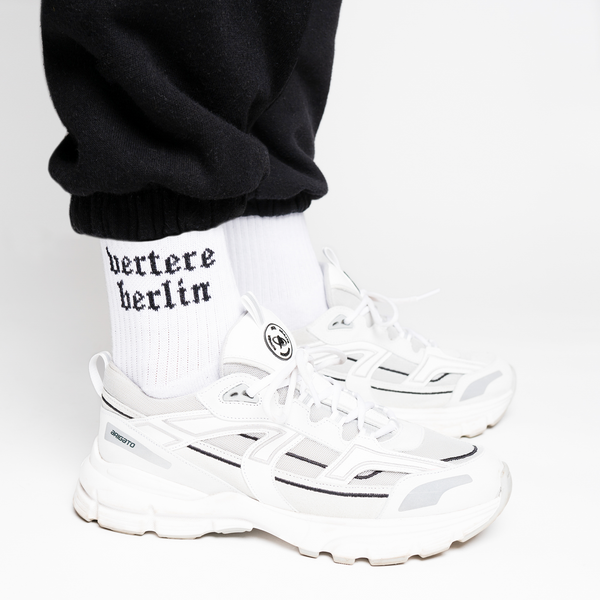 OLD BERLIN TENNIS SOCKS - WHITE