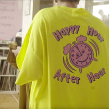 ANDHIM COLLAB T-SHIRT AFTERHOUR - NEON