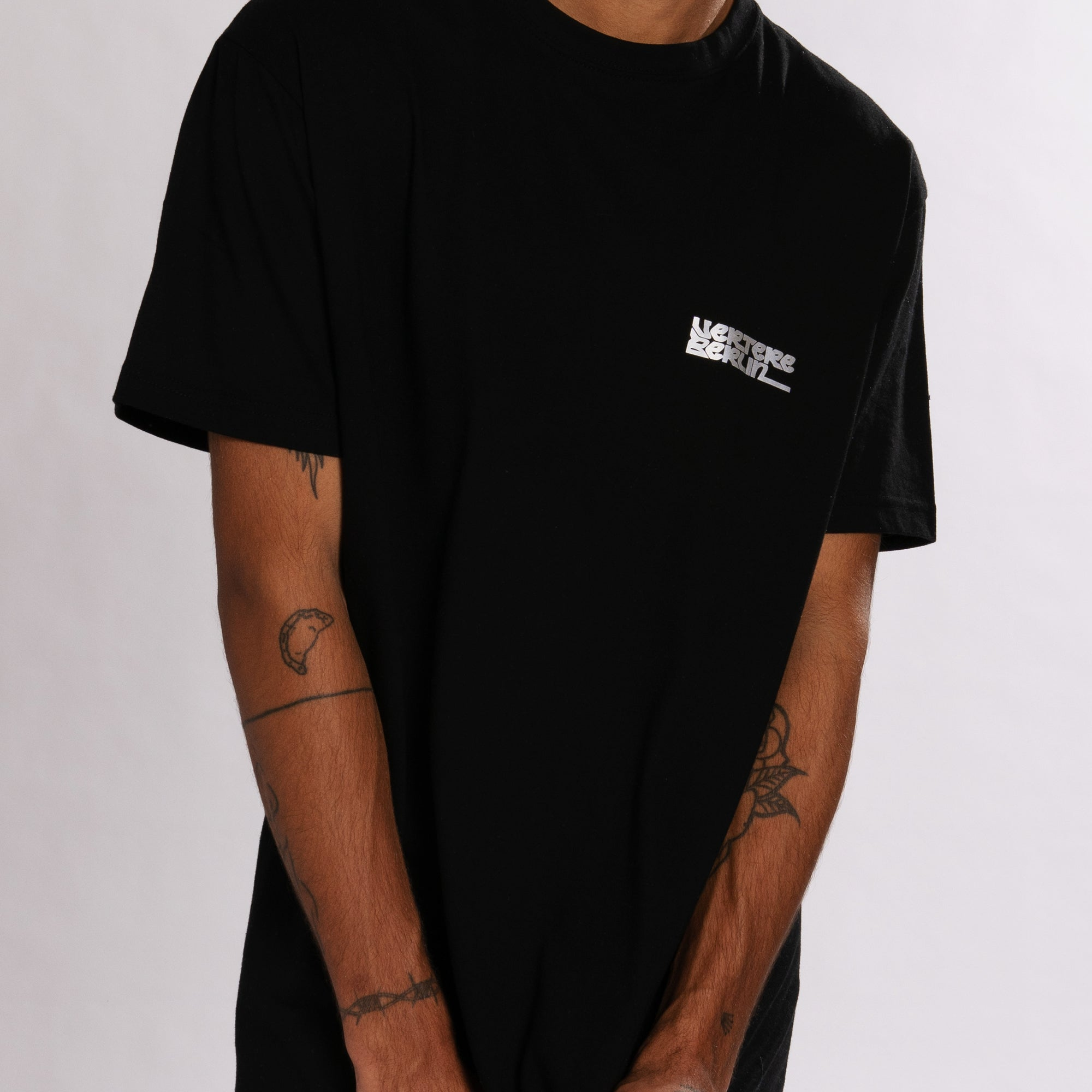 REFLECTION LOGO T-SHIRT - BLACK