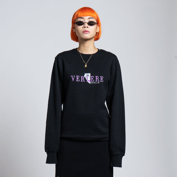 COLD FACE SWEATER - BLACK