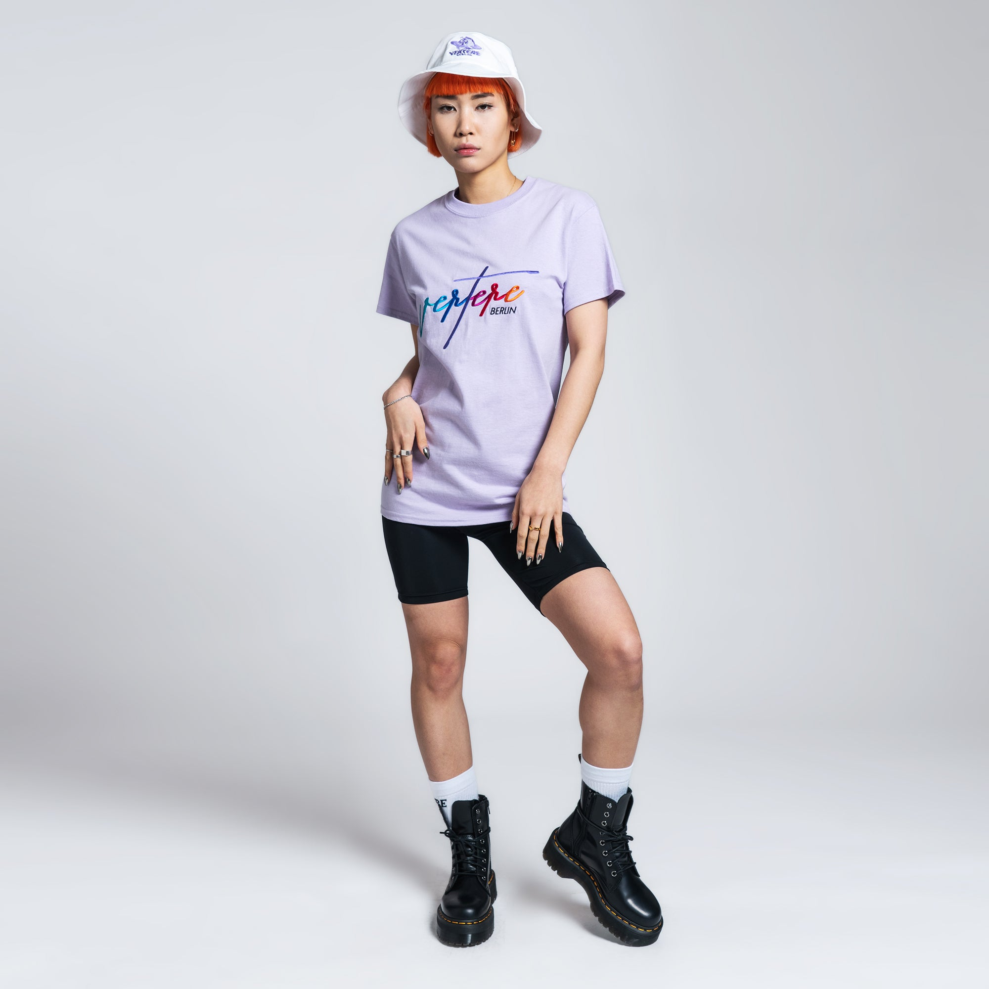 COLORIZE T-SHIRT - LIGHT-PURPLE