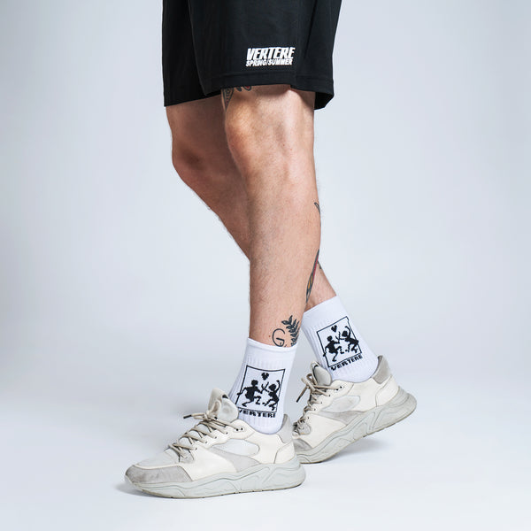 TENNIS SOCKS CONNECT - WHITE