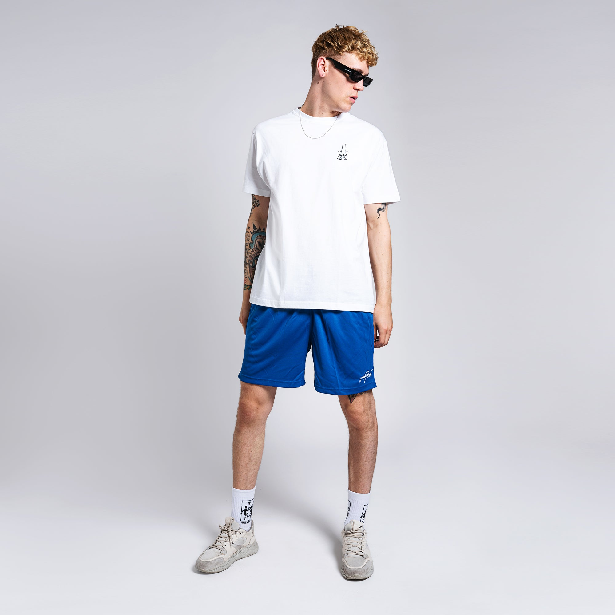 SIGNATURE SHORTS - ROYAL BLUE