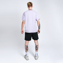 GLOBE T-SHIRT - LIGHT-PURPLE