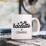 Mug Raclette Is Coming Game Of Thrones Blanc By HelloTshirt