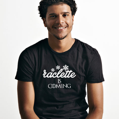 Tshirt-Homme-Raclette-Is-Coming-Noir-By-HelloTshirt