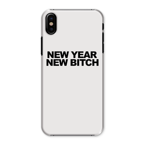 Coque Smartphone New Year New Bitch Blanc By HelloTshirt