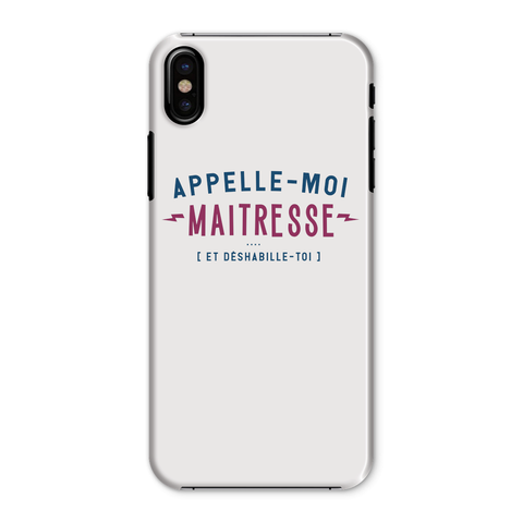 "Coque smartphone ""Appelle-moi Maîtresse"""