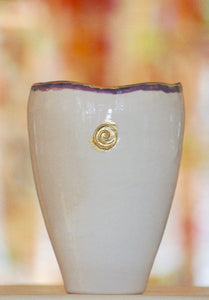 Ceramic Vase, Jewel Collection, Purple
