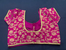 Banaras blouse - customized