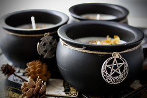 Cauldron Candle