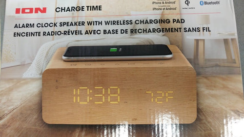 AZ ChargeTimeION:Alarm Clock+Wireless Recharging