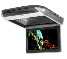 "Vissions 10"" TFT LED Roof Mount Monitor w/DVD - Grey"