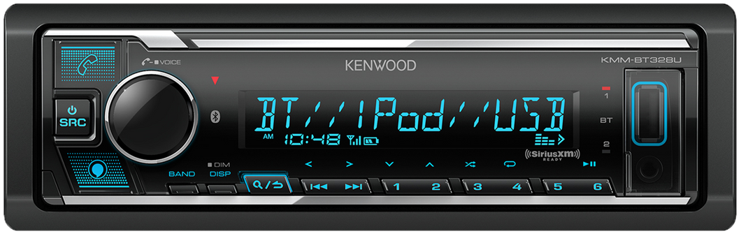 KMM BT328U KEN:Digital Media Receiver with Bluetooth