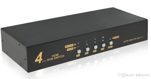 AZ 16-6830AA:HDMI + USB KVM Switcher 4IN1OUT
