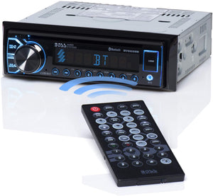 BV6658B Boss:1Din DVD Player BT Built-in Microphone, CD/DVD/MP3/USB/AUX Input,