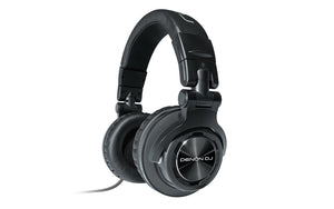 HP1100:Professional Over-Ear DJ Headphones with 180-degree Cup